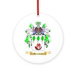 Bernadine Ornament (Round)