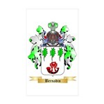 Bernadin Sticker (Rectangle 50 pk)