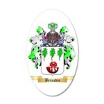 Bernadin 35x21 Oval Wall Decal