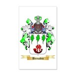 Bernadin 35x21 Wall Decal