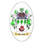 Bernadet Sticker (Oval 10 pk)