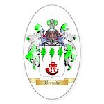 Bernade Sticker (Oval 50 pk)