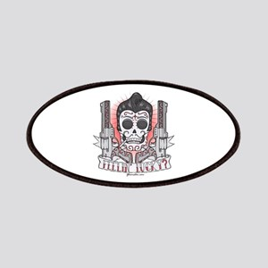 Greaser Sugar Skull Patches