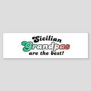 Sicilian Grandpas Bumper Sticker