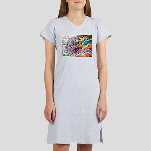 Left Brain Right Brain Cartoon Poster T-Shirt