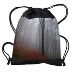 misty woods copy Drawstring Bag