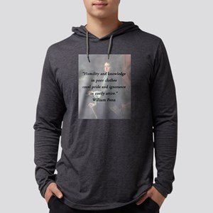 Penn - Humility and Knowledge Mens Hooded Shirt