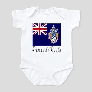 Tristan da Cunha Infant Bodysuit