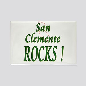 San Clemente Rocks ! Rectangle Magnet