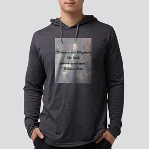 Penn - Patience and Diligence Mens Hooded Shirt