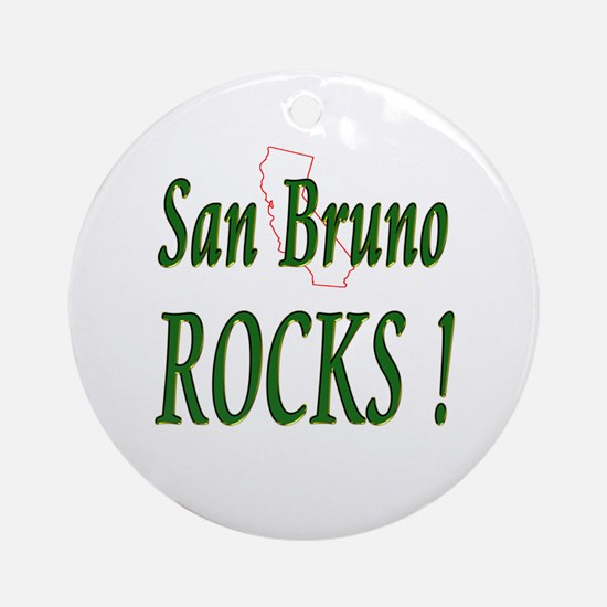 San Bruno Rocks ! Ornament (Round)