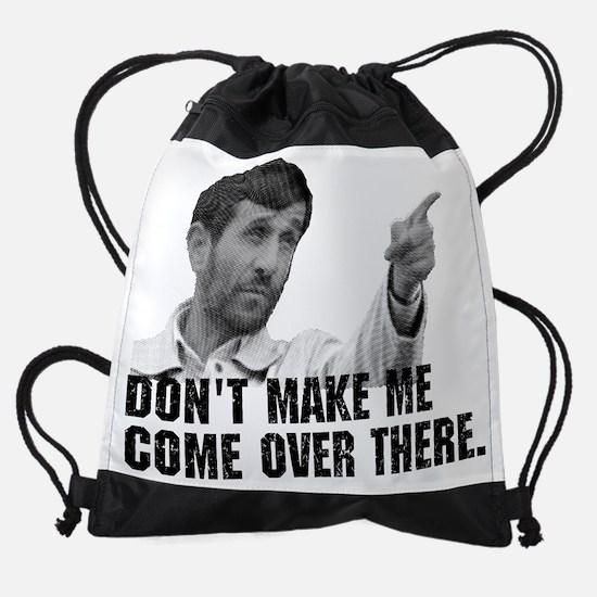 Iran_dont make me.PNG Drawstring Bag