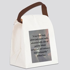 Penn - True Friend Canvas Lunch Bag