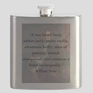 Penn - True Friend Flask