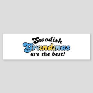 Swedish Grandmas Bumper Sticker
