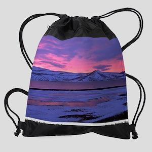 4-01-klevartinwinterrrev01 Drawstring Bag