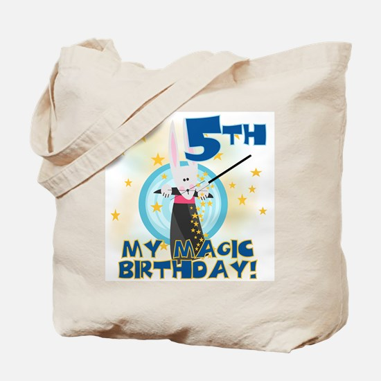 5th Magic Birthday Tote Bag