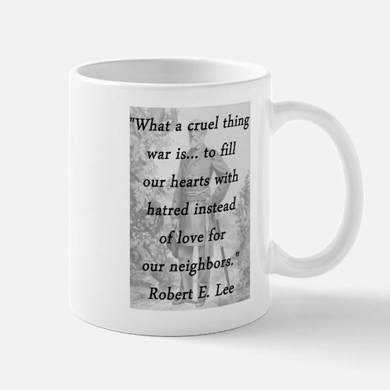 Lee - Cruel Thing Mug