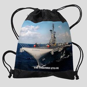 yorktown cva calendar Drawstring Bag