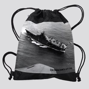 yorktown cv calendar Drawstring Bag
