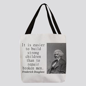 It Is Easier To Build Polyester Tote Bag