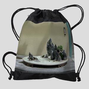 Bonsai Magnets Drawstring Bag
