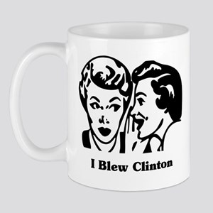 I Blew Clinton Mug