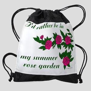 ratherBin-rose-garden-01-TRANSP Drawstring Bag