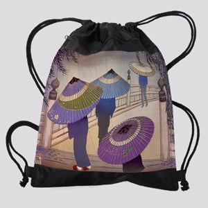 rainposter Drawstring Bag