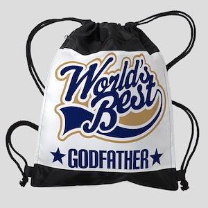 wb godfather Drawstring Bag