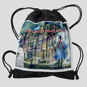 a christmas carol 11.5x9_print  Drawstring Bag