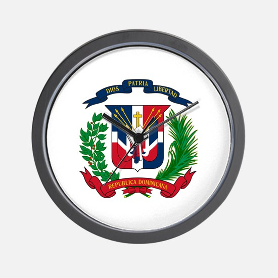 Cute Dominican republic Wall Clock