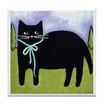 Little Black CAT Tile/Coaster