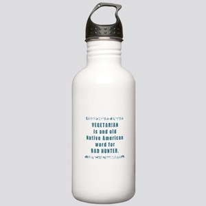 Vegetarian - Bad Hunte Stainless Water Bottle 1.0L