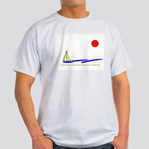 Surfers Point Ash Grey T-Shirt