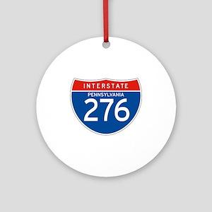 Interstate 276 - PA Ornament (Round)