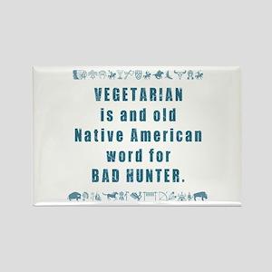 Vegetarian - Bad Hunter Magnets