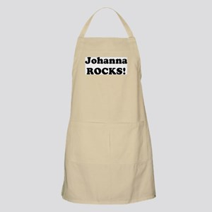 Johanna Rocks! BBQ Apron