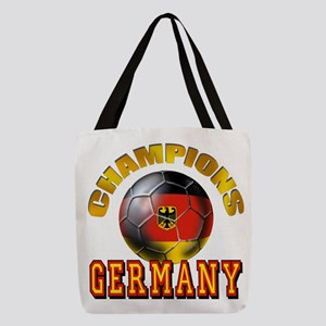 German Soccer Champions Polyester Tote Bag