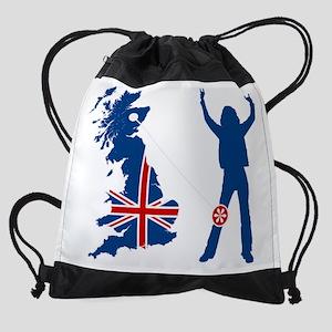 Britain-Knee-Shirt_Dark_vF Drawstring Bag