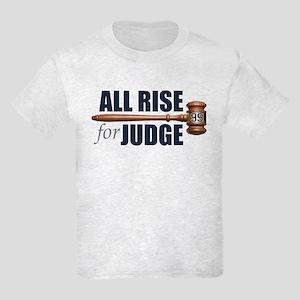 All Rise For Judge Kids Light T-Shirt (front/back)