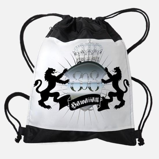 hawaiian_heraldry.png Drawstring Bag