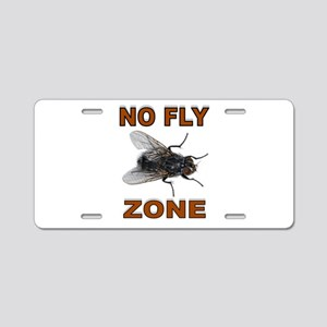 NO FLY ZONE Aluminum License Plate