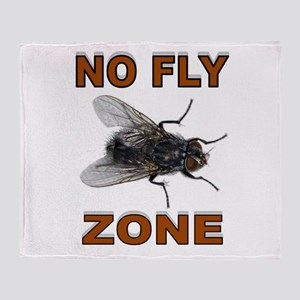NO FLY ZONE Throw Blanket