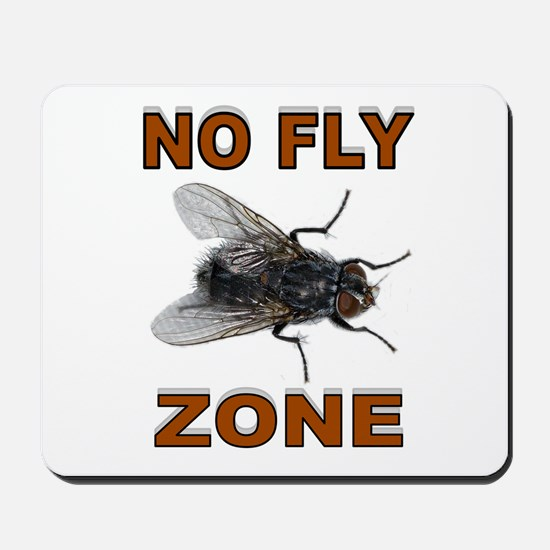 NO FLY ZONE Mousepad