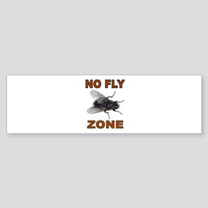 NO FLY ZONE Bumper Sticker