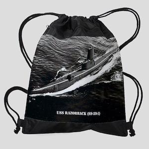 razorback calendar Drawstring Bag