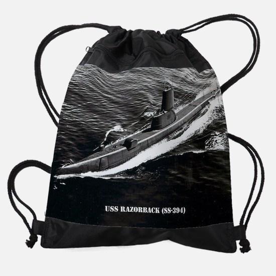 razorback calendar.jpg Drawstring Bag