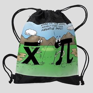 Pi_58 Negative Skew (20x16 Color).j Drawstring Bag