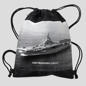 princeton cvs calendar Drawstring Bag